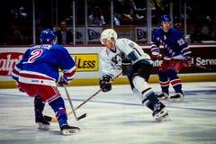 Teemu Selanne Anaheim Ducks stockfotos