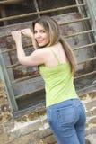 Teen. Girl stock photo