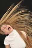 teen age girl Screaming Royalty Free Stock Image