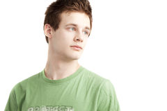 Teen aged boy royalty free stock photo