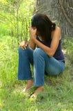 Teen Alone stock photos