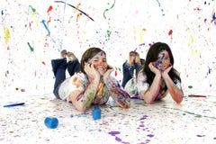 Teen Artist Stock Photo