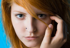 Teen attitude. Royalty Free Stock Photography