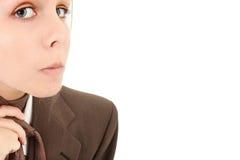 Teen in Baggy Suit Stock Images