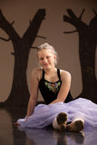 Teen in Ballet Dress Royalty Free Stock Photography