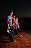 teen bandmusikal Arkivfoto