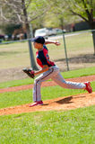 Teen baseball pitcher Royalty Free Stock Photography