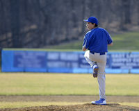 Teen baseball pitcher Stock Images
