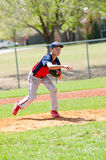 Teen baseball pitcher Stock Photo