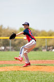 Teen baseball player Royalty Free Stock Images