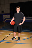 Teen Basketball Player Stock Photography