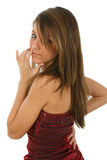 Teen Beauty Stock Photo