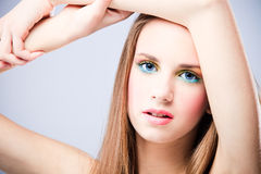 teen beauty Royalty Free Stock Images