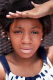 Teen black girl Stock Images