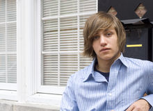 Teen Boy Royalty Free Stock Photography