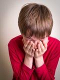 Teen Boy Crying Stock Photography