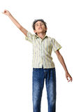 Teen boy dancing Royalty Free Stock Photography