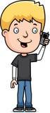 Teen Boy Phone Stock Photos
