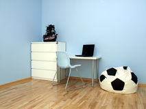 Teen boy room Stock Images