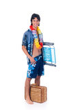 Teen boy, spring break Royalty Free Stock Image