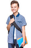 Teen boy student stock images