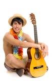 Teen boy, vacation Royalty Free Stock Photo