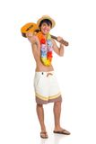 Teen boy, vacation Stock Photography