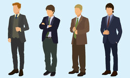 Teen Boys In Suits Royalty Free Stock Image