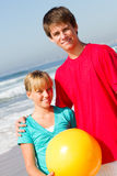 Teen brother and sister Stock Photography
