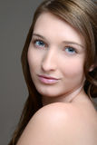 Teen brunette portrait Stock Image