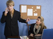 Teen Business Team Stock Photography