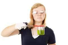 Teen Chemist Stock Images