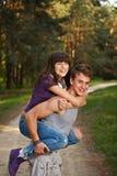 Teen couple Royalty Free Stock Image