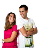 Teen couple Royalty Free Stock Photography