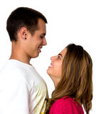 Teen couple Royalty Free Stock Images