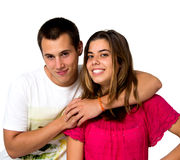 Teen couple Royalty Free Stock Photos