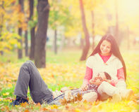 Teen couple Royalty Free Stock Image