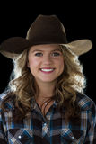 Teen cowgirl Stock Images