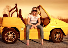 Teen driver Royalty Free Stock Images