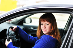 Teen driver Stock Images