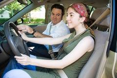 Teen Drivers Education Stock Image