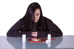 Teen Drug Addiction Problem royalty free stock image