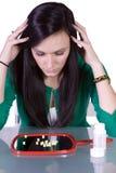 Teen Drug Addiction Problem stock image