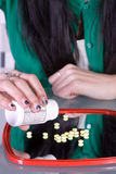 Teen Drug Addiction Problem stock images