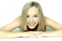 Teen face of beauty Stock Image