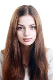 Teen face portrait Stock Image