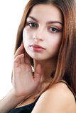 Teen face portrait Stock Photo
