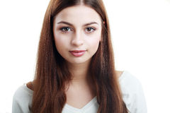 Teen face portrait Royalty Free Stock Photos