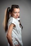 Teen fashion girl Stock Photos