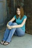 Teen fashion model Stock Photo